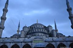 Sultan Ahmet Mosque (hamid-golpesar) Tags: sultanahmetmosque sultanahmet sultanahmetcamii mosque sky raining landscape building owaysee outdoor travel istanbul turkey hamid hamidowaysee hamidgolpesar tabriz iran