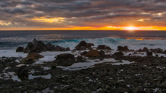 December Sunset 3 (Jörg Bergmann) Tags: 2018 crepúsculo islascanarias lumixg20f17 lagomera panasonic20mmf17 panasonicdmcgm1 pancake sonnenuntergang vallegranrey atardecer backlight canarias canaryislands cliffs coast december españa gm1 goldenhour gomera hiver invierno lumix lumix20mm m43 mft micro43 microfourthirds ocean panasonic puestadesol rocks sea seascape spain sun sundown sunset surf travel water winter μ43