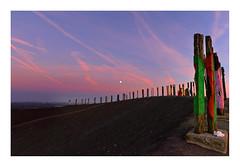 industrial romantic (rcfed) Tags: hasselblad mediumformat digital wideangle sunset cloud sky color sculpture industrial romantic