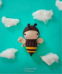 Bee (Linayum2.0) Tags: bee ganchillo crochet amigurumi handmade cute abeja kawaii hechoamano linayum