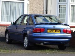 1997 Ford Escort 1.8 LX (Neil's classics) Tags: vehicle car 1997 ford escort 18lx