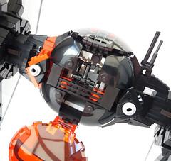 Gunner seat (Rubblemaker) Tags: star wars starwars lego building blocks first order tie fighter