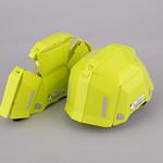 防災用折りたたみヘルメットの写真