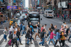 NYC Sunday (Mobilus In Mobili) Tags: nyc newyork timessquare