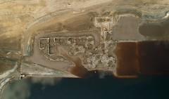 Derwent Hall (Sam Tait) Tags: ladybower reservoir low water derelict abandoned sunken derwent hall drought dji spark drone aerial photograph