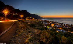 Overlooking Table Mountain and Atlantic Ocean from Camps Bay, Cape Town (Imscenergy) Tags: tablemountain campsbay atlanticocean capetown southafrica sunsetcapetown sunsetcampsbay sunset longexposure