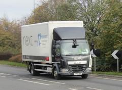 Next FP14 URY at Welshpool (Joshhowells27) Tags: lorry daf lf daflf next fp14ury box