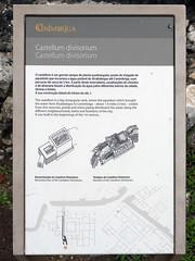 Yacimiento. Castellum divisorium (Conimbriga, Portugal) (Juan Alcor) Tags: castellum divisorium placa yacimiento conimbriga portugal ruinas romanas romano