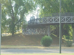 225 (en-ri) Tags: edro uao crew qmpa bianco torino nero rosso wall muro graffiti writing blu