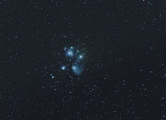 Pleiades - M45 (Tim Bow Photography) Tags: night nightsky pleiades m45 darkskieswales darkskies stars widefieldastrophotography canon timbowphotography timboss81