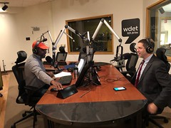 "Gil on WDET-FM's ""Detroit Today with Stephen Henderson"""