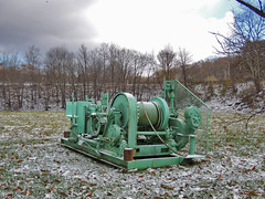 Abandon Equipment (George Neat) Tags: 9for9 ninefornine somerset county quecreek mine rescue miracle scenic landscapes monument laurelhighlands georgeneat patriotportraits neatroadtrips clouds