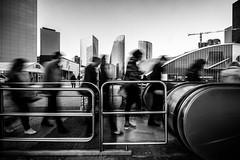 Paris - La Défense (tomabenz) Tags: france noiretblanc street people streetshot mono sony a7 paris urban monochrome photography bnw bw a7rm2 urbanexplorer zeiss human geometry black white europe streetview noir blanc blackandwhite humaningeometry sonya7rm2 sonya7 streetphotography