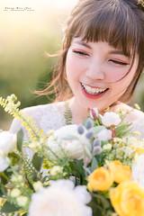 20181211-4E8A1182 (1993 / 鄭百均攝影 . photography) Tags: 鄭百均攝影 人像攝影 婚紗 逆光 微笑 森林 陽光 笑容