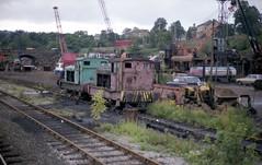 Crossley & Evans Shipley (askamfr) Tags: ruston hornsby shipley midland crossley evans industrial scrapyard loco