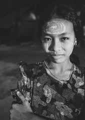 Burmese Young Woman With Thanaka On Her Face, Ngapali, Myanmar (Eric Lafforgue) Tags: asia asian beautifulpeople beauty blackandwhite burma cheek day decoration exoticism face facepowder grainy headshot lookingatcamera makeup myanmar ngapali oneperson oneyoungwomanonly outdoors paintedface pattern photography portrait traveldestinations trix vertical waistup women leicaburma278 rakhinestate
