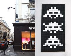 Space invader [Paris 16e] (biphop) Tags: europe france paris streetart space invader spaceinvader mur wall installation mosaic mosaique 75016 pa1223