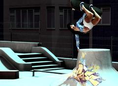 Skater Girl (Pheebes Cheng) Tags: secondlife sl slphotography asian maitreya catwa backdropcity skater skateboard