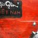 Sai Gon Graffiti on a Wall in Ho Chi Minh City, Vietnam