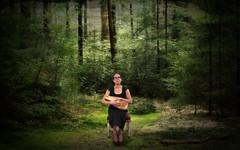 Faith (Jenny!) Tags: forest louisedubois log wood trees