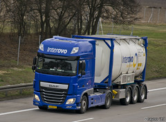 Interovo (NL) (Brayoo) Tags: tank container daf dutch nl liquid