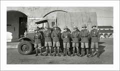 Vehicle Collection (9424) - Morris (Steve Given) Tags: motorvehicle automobile workingvehicle truck morris britisharmy india 1930s group soldiers