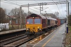 DB Cargo 66169 (Mike McNiven) Tags: dbcargo db freight loco locomotive railway rail train piccadilly manchester healdgreen traffordpark southampton westerndocks containertrain
