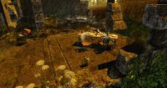 Distant memories (Joy79 Vincent) Tags: sl secondlife 3dworld 3dchat three landscape avatar nature rain