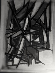 Day is night, lost in sight (journo_bouy) Tags: abstract art artist artwork monochrome line