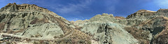 Sheep Rock Unit at John Day Fossil Beds NM in OR (landscapesinthewest) Tags: sheep rock unit john day fossil beds national monument oregon landscape west pacific northwest panorama panoramic american