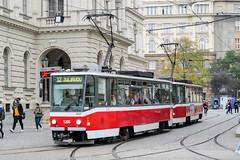 BRN_1205_201811 (Tram Photos) Tags: ckd tatra t6a5 brno brünn strasenbahn tram tramway tramvaj tramwaj mhd šalina dopravnípodnikměstabrna dpmb