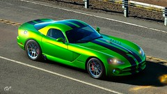 Dodge Viper SRT 10 (obscure.atmosphere) Tags: sonnenschein sonnenlicht licht light ligero lumiere sunlight sunshine sunny sonnig natur nature naturista naturaleza wald forest bosque selva foret woods blätter leaves baum bäume tree trees road strase street ps4 playstation 4 gt sport gran turismo dodge chrysler us usa american muscle car auto automobile supercar sportcar hypercar exotic automobil sportwagen coche carro automovil deportivo voiture srt viper herbst autumn otono automne 秋 가을 laub foliage chrome wheels shadows schatten shadow 10