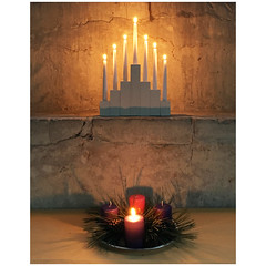 Advent 1 (badger_beard) Tags: st johns church duxford cambridge cambridgeshire cambs south candles advent