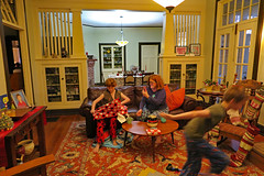christmaspr2018 (FAIRFIELDFAMILY) Tags: christmas 2018 jason taylor grant carson michelle winnsboro sc south carolina present presents family living room house interior arts crafts craftsman bungalow antique fireplace rug lego legos child boy young old children boys mother son fairfield county vintage tree morris chair oak mantle piece