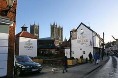 Lincoln, Lion & Snake (Clanger's England) Tags: england lincoln lincolnshire wwwenglishtownsnet pub poe