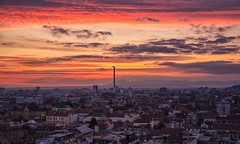 Time To Say Goodbye (Anna Kwa) Tags: sunset city view zagreb croatia annakwa nikon d750 2401200mmf40 my timetosaygoodbye always seeing heart soul throughmylens life joureny fate destiny travel world