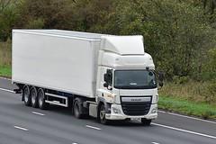 FJ65 VMP (Martin's Online Photography) Tags: daf cf truck wagon lorry vehicle m6 highlegh cheshire nikon nikond7200