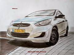 Hyundai i25 Accent (paul7310) Tags: hyundai accent i25 draw drawing авто рисунок