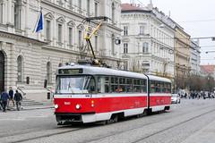 BRN_1041_201811 (Tram Photos) Tags: ckd tatra k2p brno brünn strasenbahn tram tramway tramvaj tramwaj mhd šalina dopravnípodnikměstabrna dpmb