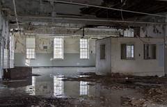 Sports Fan Asylum (Pt. 2) (Baldran) Tags: abandoned decay ruin vacant derelict hospital asylum