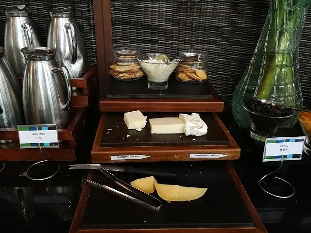 <p>チーズ</p>