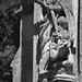 Georges de Lydda (?) sur la tour Saint-Nicolas