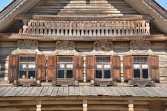 Patrimoine architectural russe (RarOiseau) Tags: architecture détail velikynovgorod musée fenêtre window wood v1500 saariysqualitypictures