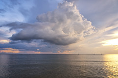 Storm is coming (mystero233) Tags: storm cloud alone loneliness sea water ocean island beach holiday landscape outdoor nature boat sky cloudy vietnam phuquoc asia