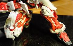 DSCF8042 (bensalzberg) Tags: gunpla gundam astray redframe bandai macro robot