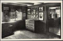 Postkort fra Agder (Avtrykket) Tags: ibsen ibsenhuset ibsenmuseum postkort værelse grimstad austagder norway nor