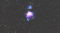 Orion (M42) & Running Man (M43) (tigerz1995) Tags: astro astronomy astrophotography stars tracked night hungary pentax pentaxk1 tamron tamron70200 nebula orion runningman m42 m43 star starrynight skywatcher staradventurer astrometrydotnet:id=nova3113689 astrometrydotnet:status=solved