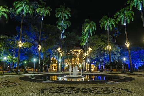 PRINCESSES FIELD PALACE WITH CHRISTMAS LIGHTS OF 2018 / PALÁCIO CAMPO DAS PRINCESAS COM AS LUZES DE NATAL 2018