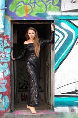 Kornelia (piotr_szymanek) Tags: kornelia korneliaw woman young skinny outdoor portrait face eyesoncamera longhair feet roof goldenhour 1k 20f 50f 5k 10k 100f 20k 30k