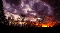 A November Sunset (Nicholas Erwin) Tags: landscape sunset sky clouds silhouette nature naturephotography outside outdoors november moody fujifilmxt2 fujixt2 xf1855 xf1855mmf284rlmois fujifilm1855 waterbury vermont vt unitedstatesofamerica usa america autumn fall fav10 fav25